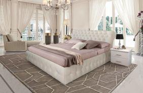 Кровать Корсика в интерьере