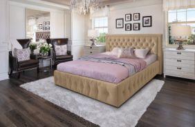 Кровать Мальта. Ткань Veluttto 02