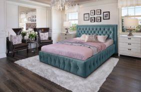 Кровать Мальта. Ткань Veluttto 53