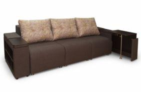 Прямой диван со столиком Даллас. Выдвижной столик