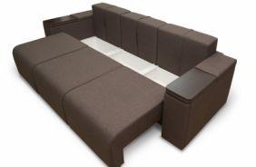 Прямой диван со столиком Даллас. Ящик для белья