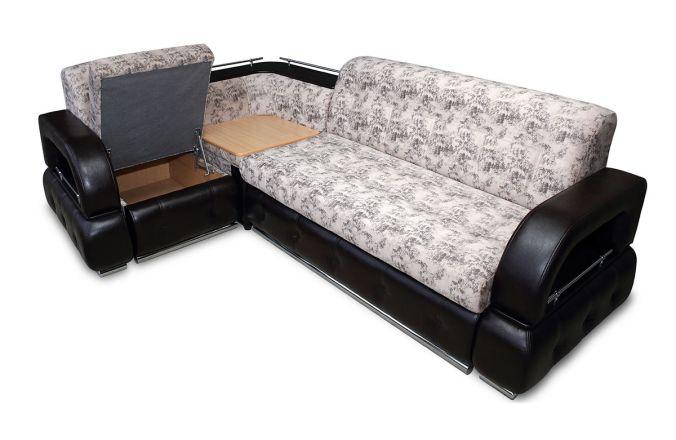 Угловой диван Венеция. Ящик для белья