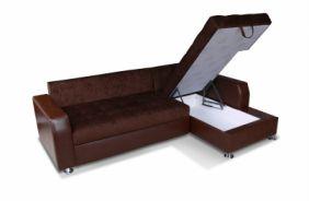 Модульный угловой диван Лагуна. Ящик для белья