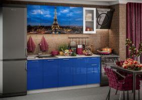Кухня фотопечать Париж ( готовое решение 2,0 м )