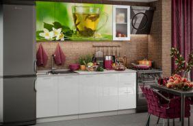 Кухня фотопечать Чай мята. Готовое решение 2,0