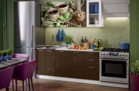 Кухня фотопечать Черный чай. Готовое решение 1,8