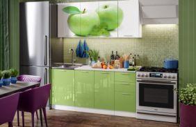 Кухня фотопечать Яблоко. Готовое решение 1,7