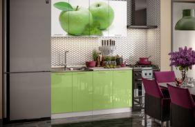 Кухня фотопечать Яблоко. Готовое решение 1,6