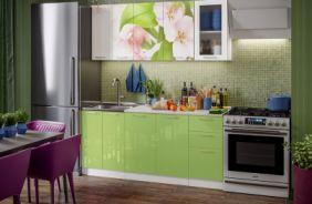 Кухня фотопечать Яблоневый цвет. Готовое решение 1,8
