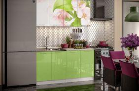 Кухня фотопечать Яблоневый цвет. Готовое решение 1,6