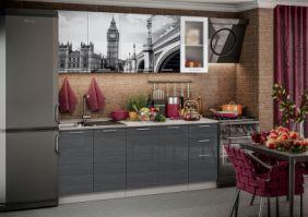 Кухня фотопечать Биг Бен ( готовое решение 2,0 м )
