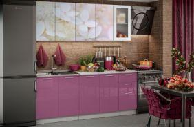 Кухня фотопечать Вишневый цвет. Готовое решение 2,0