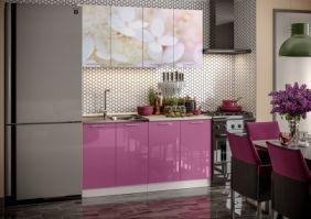 Кухня фотопечать Вишневый цвет ( готовое решение 1,6 )