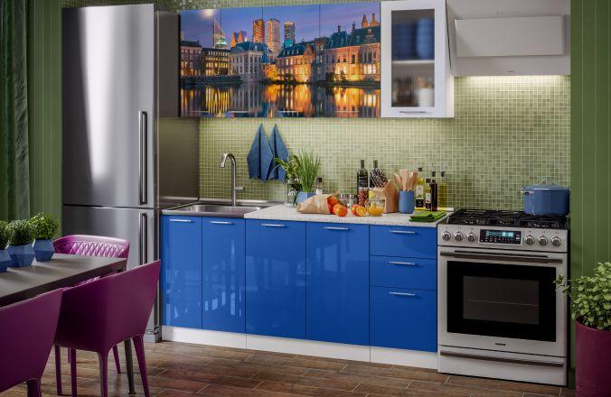 Кухня фотопечать Гаага. Готовое решение 1,8