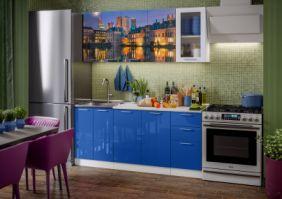 Кухня фотопечать Гаага ( готовое решение 1,8 м )
