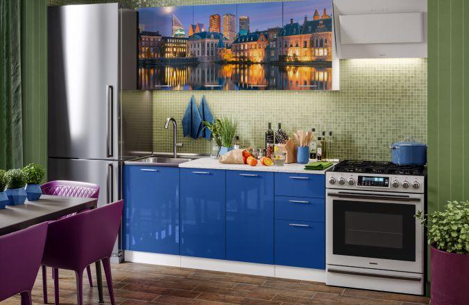 Кухня фотопечать Гаага. Готовое решение 1,7
