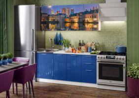Кухня фотопечать Гаага ( готовое решение 1,7 м )