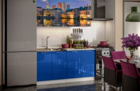 Кухня фотопечать Гаага. Готовое решение 1,6