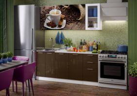 Кухня фотопечать Кофе ( готовое решение 1,8 м )