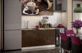 Кухня фотопечать Кофе. Готовое решение 1,6