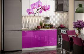 Кухня фотопечать Орхидея. Готовое решение 1,6