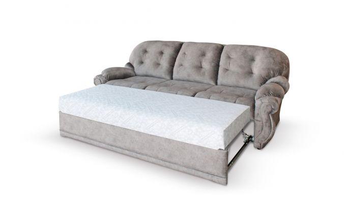 Прямой диван дельфин Хилтон. Спальное место