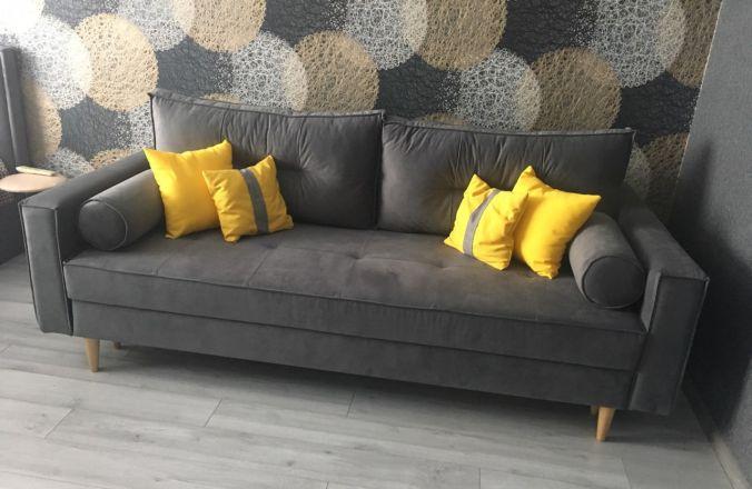 Прямой диван Лофт. Фото от покупателей