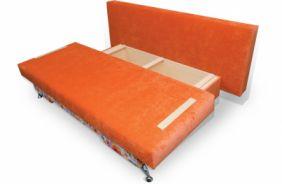 Прямой диван еврософа Диана. Ящик для белья