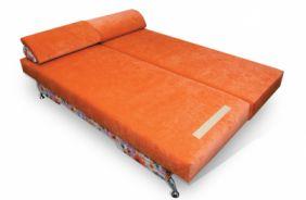 Прямой диван еврософа Диана. Спальное место