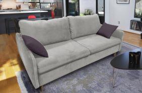 Прямой диван Бэст V. Ткань дивана: Velutto 13; ткань подушек: Velutto 19