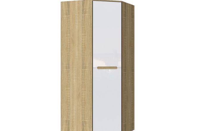 Комбинированный угловой шкаф Ким. Цвет Сонома