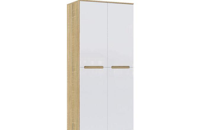 Современный шкаф для одежды Ким. Цвет Сонома
