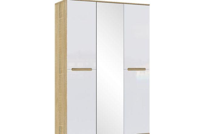 Шкаф для одежды трехстворчатый Ким. Цвет Сонома