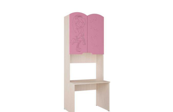Стол с надстройкой Юниор-3. Фрезеровка