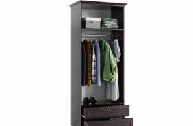 Шкаф 2–дверный с ящиками Престиж с внутренним наполнением