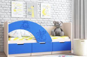 Кровать Юниор-3 (синяя)