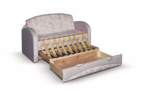 Малогабаритный диван Барби-3. Ящик для белья