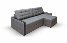 Угловой диван тик-так Луксор. Grafit