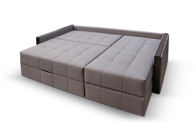 Угловой диван тик-так Луксор. Спальное место