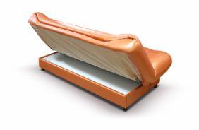 Прямой диван клик–кляк Томас. Orange