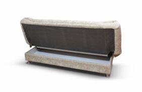 Прямой диван клик–кляк Томас. Ящик для белья