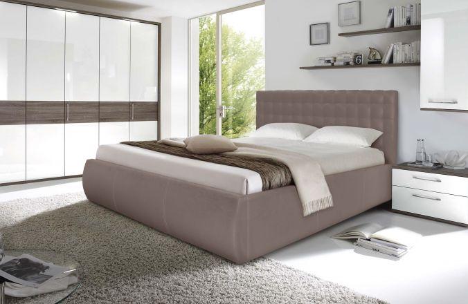 Кровать Лира. Ткань Velutto 06