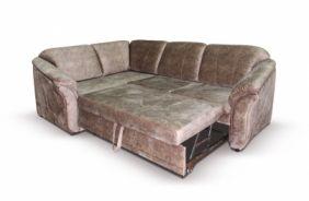 Угловой диван Неаполь. Спальное место (по подушкам)