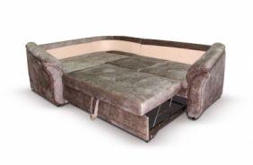 Угловой диван Неаполь. Спальное место (по сидушки)