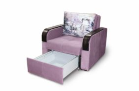 Выкатное кресло-кровать Адель. Ящик для белья