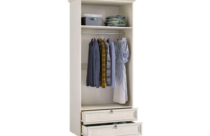Шкаф распашной с ящиками Престиж 2