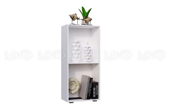Шкаф комбинированный белый Рио. Внутреннее наполнение