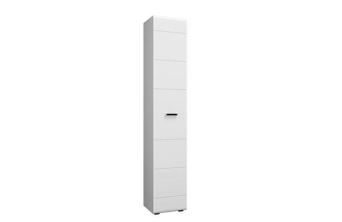 Белый шкаф–пенал Ненси NEW