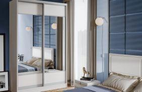 Шкафы-купе с зеркалом от 6400р недорого от производителя в Пензе в магазине ВСЯМЕБЕЛЬ
