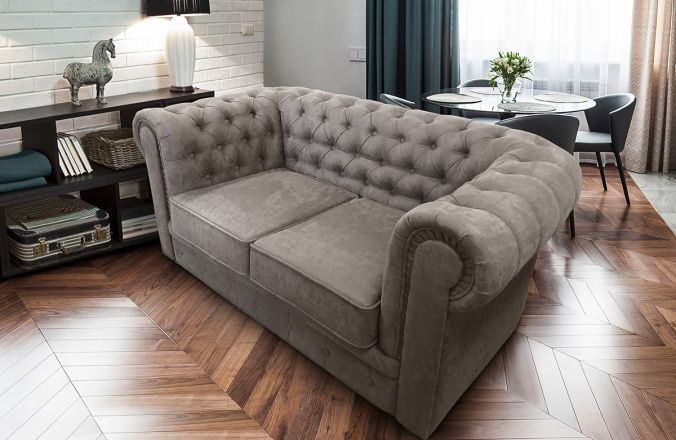 Прямой диван Честер.